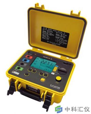 法国CA CA6470N专业型接地电阻测试仪
