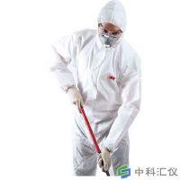 3M 4510 白色带帽连体防护服(Type5&6类防护)