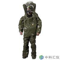 法国雷克兰 CT4-A450 B级呼吸器内置型防化服